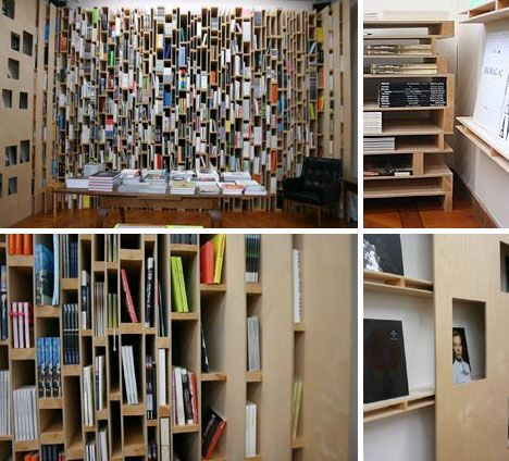 Fantastic Floor-to-Ceiling, Whole-Wall Bookcases & Shelves