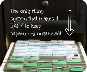 A Simple Way to Organize Files at Home