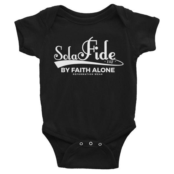 Sola Fide Baby Onesie