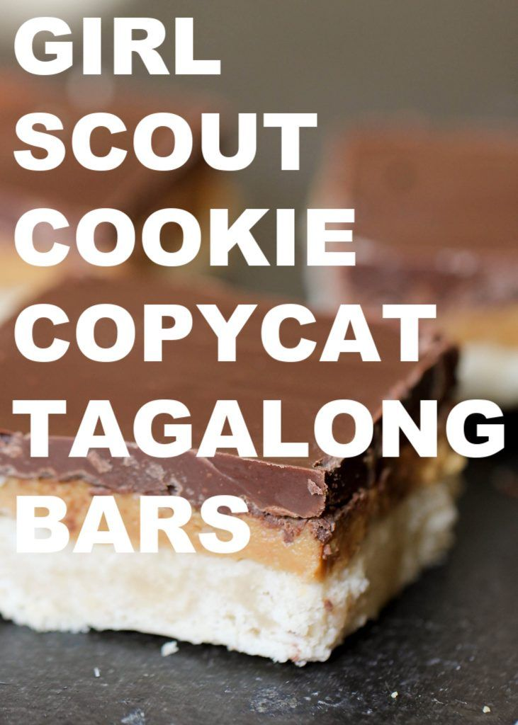 Copycat Tagalong Bars Recipe Tagalong Cookies Cookie Recipes