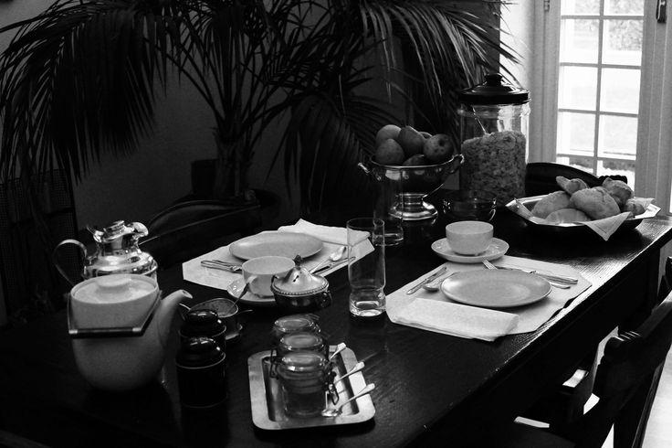 b&b Gli Specchi - old stylish breakfast