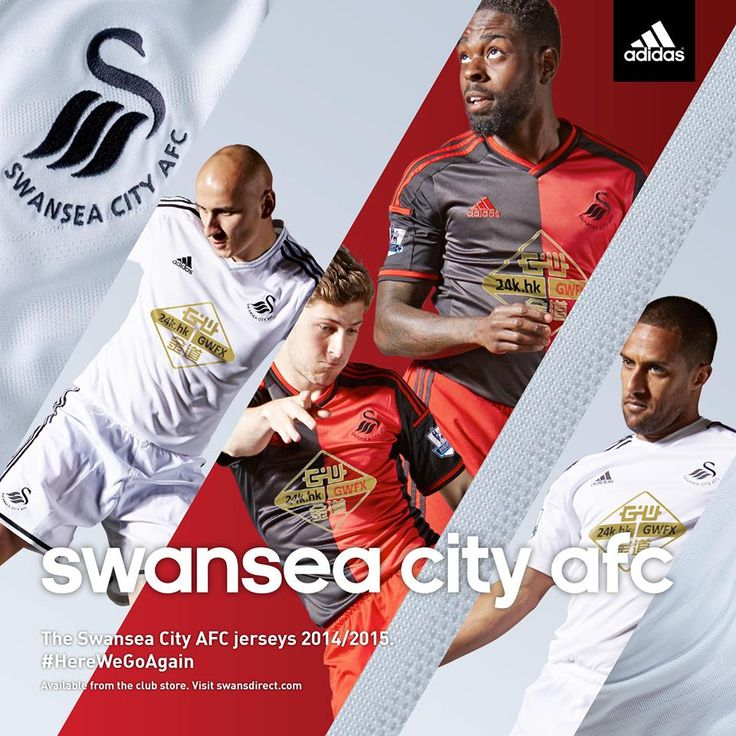 Swansea City 2014-15 adidas