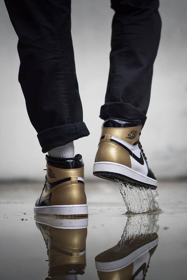 new product 272cf 12860 Nike Air Jordan 1 Retro High OG Gold Top 3 - 2017 (by ...