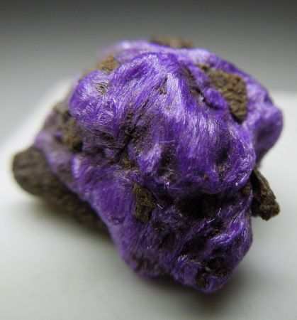 A furry Sugilite! A very unusual crystallization for this mineral. So beautiful!