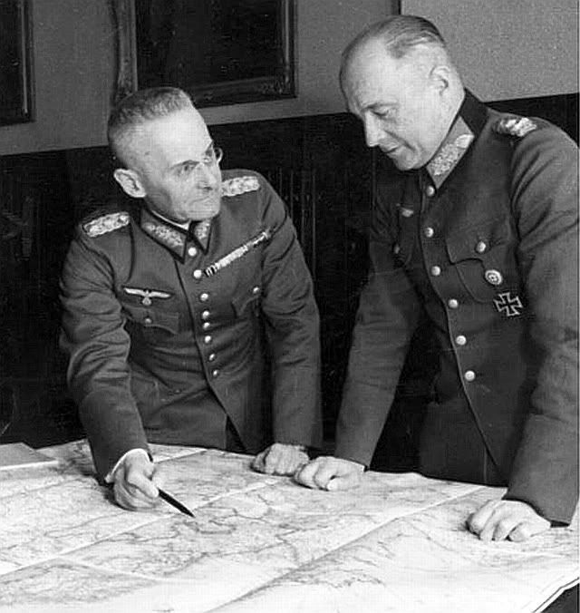 Halder and von Brauchitsch