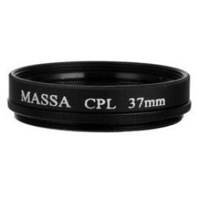 New MASSA CPL Circular Polarizer Lens Filter 37mm