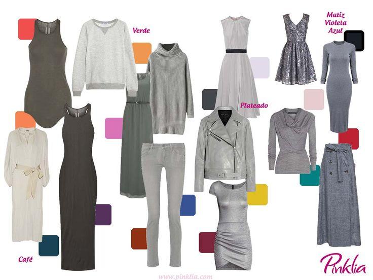 17 best images about colores on pinterest rapunzel tes - Combinaciones con gris ...