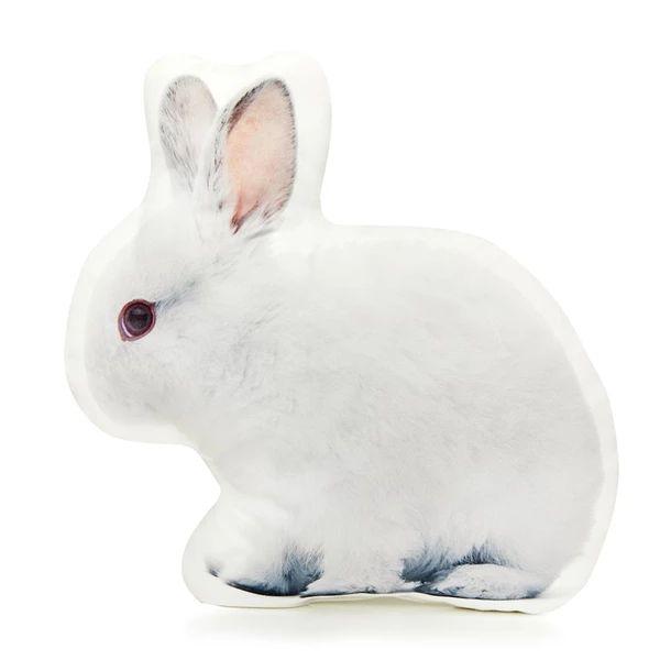 White Rabbit Shaped Pillow