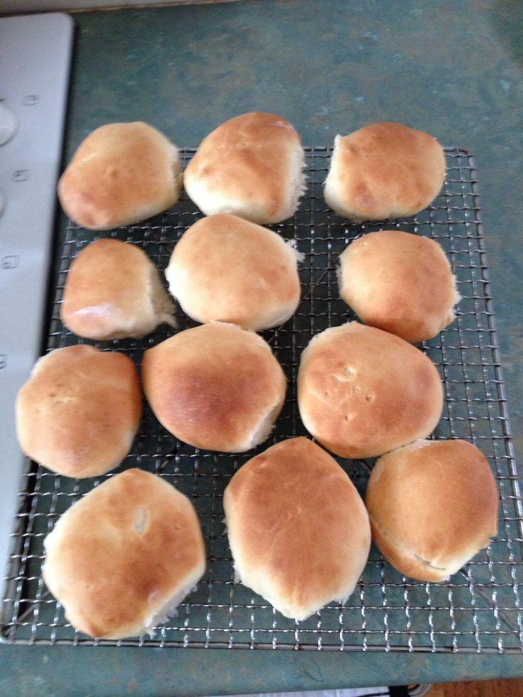 Thermomix bread rolls.