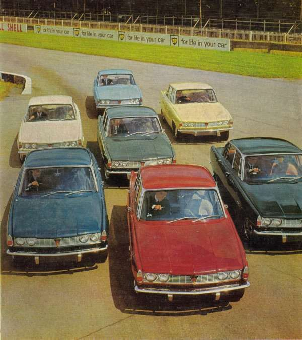 The cars : Rover P6 - AROnline