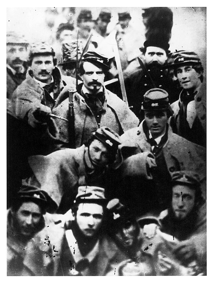 Confederate volunteers, 1861. This is one of my favorite Civil War photos.