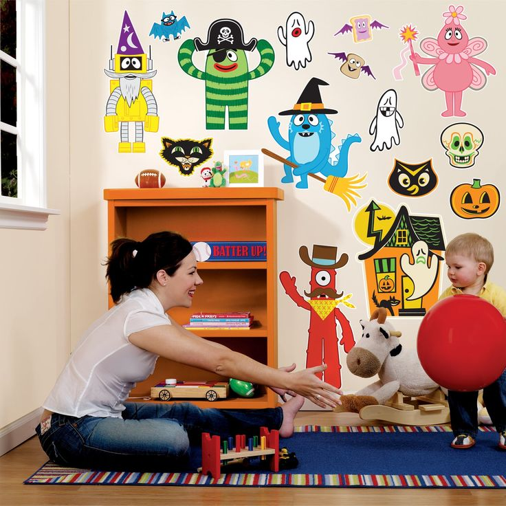 17 best images about yo gabba gabba decor on pinterest - Yo gabba gabba bedroom decor ...