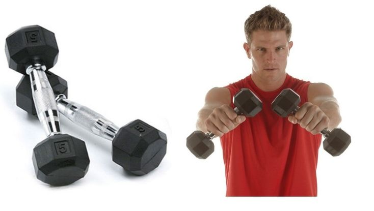 SPRI Deluxe Rubber Dumbbells made from premium grade material, exquisitely designed with attractive functionalities.