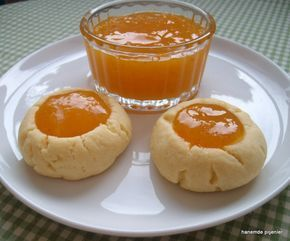 kayısı marmelatlı kurabiye