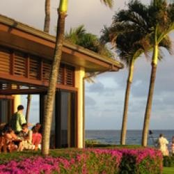 beach house restaurant, kauai...Fine dining in Poipu, Kauai. Watch the surfers. Then watch the sunset. No additional charge.