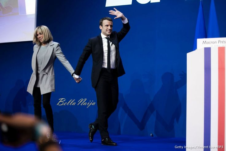 Image result for emmanuel macron age