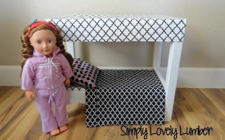 American Girl Canopy Bed | Do It Yourself Home Projects from Ana White