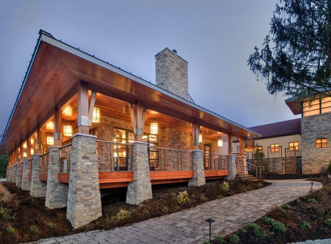 17 best images about house stone fa ade ideas on pinterest for Stone facade house