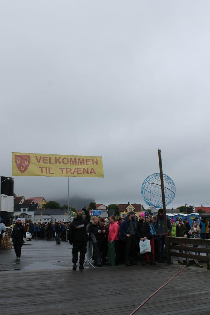 #rock festival on the #arctic circle  - #Trænafestivalen.  Along the scenic road #Kystriksveien. www.kystriksveien.no