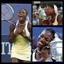 Serena Williams becomes the 2nd African-American woman to win the U.S. Open title. Althea Gibson was the 1st. On this day, at Arthur Ashe Stadium in Flushing Meadow, NY, Serena was able to finish the jobSerena Williams becomes the 2nd African-American woman to win the U.S. Open title. Althea Gibson was the 1st. On this day, at Arthur Ashe Stadium in Flushing Meadow, NY, Serena was able to finish the job that big sister Venus couldn't, beating Martina Hingis 6-3, 7-6 (7-4) to capture the U.S…