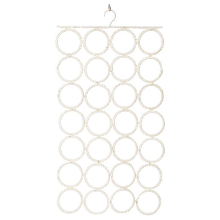 Hasv g spring mattress medium firm beige scarfs for Scarves hanger ikea