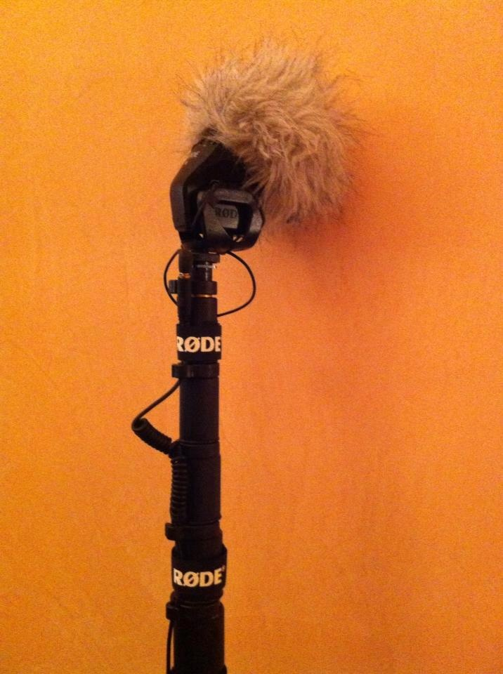 Paolo Micai - RØDE Microphones  Boompole & VideoMic Stereo Pro... is not a shotgun... but the audio is very good!