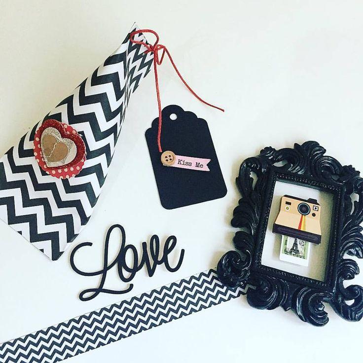 tema dia dos namorados - papéis linha básica maricelli , adesivos e tag preto