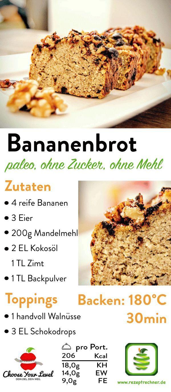 Bananenbrot Schoko