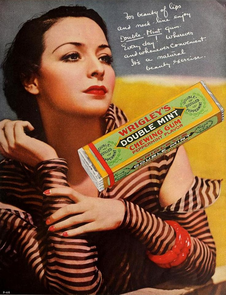 Wrigley's Double Mint Gum, April 1935 | Flickr - Photo Sharing!