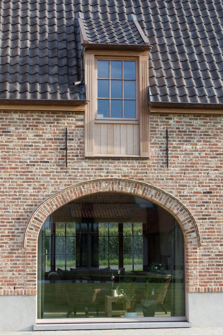 Project by Elbeko www.elbeko.be. Design exterior : Sandra Schepens.