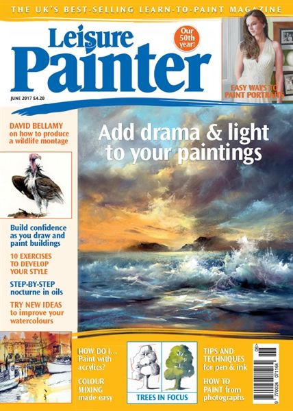 June 2017 Leisure Painter. Buy online, http://www.painters-online.co.uk/