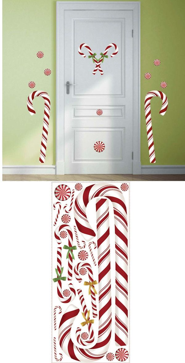 69 curated holiday wall decor ideas by wallstickerout for Candy wall mural