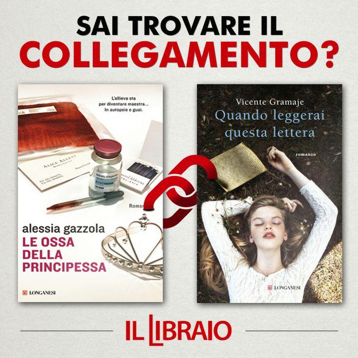 Diversissimi tra loro ma con qualcosa in comune: sapete dirci che cosa lega i due romanzi? #ScopriLink