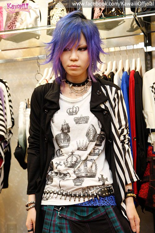From the ALGONQUINS visual kei and punk store!