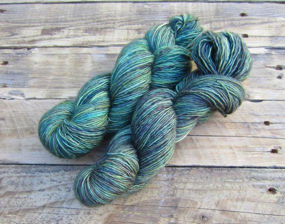 Hand Dyed Yarn  Fingering/Sock Weight  by UnicornChicStudio, $25.00