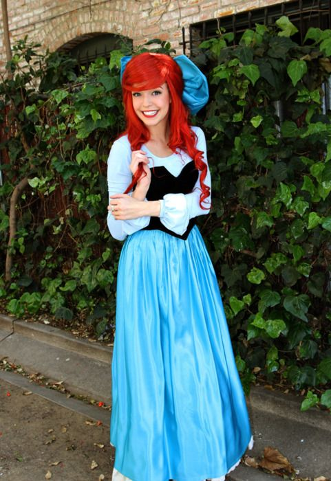 ariel kiss the girl halloween costume inspirationmy next - Amazing Costumes For Halloween