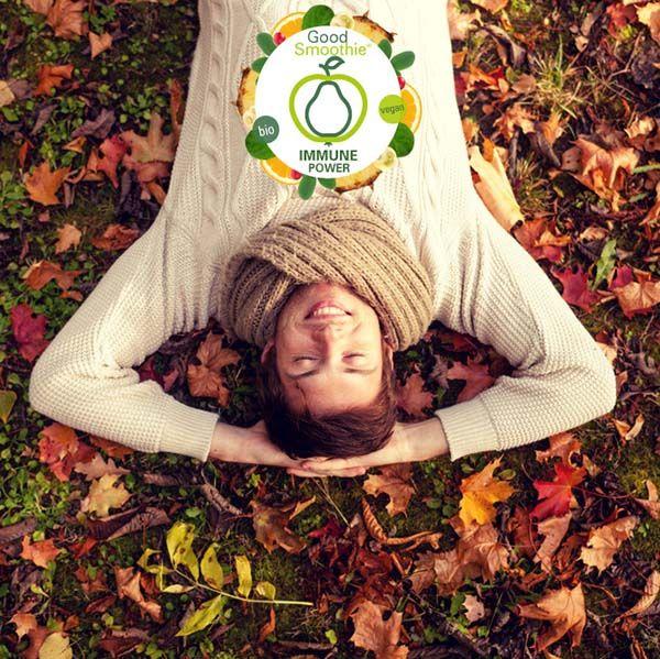 Damit ihr gesund durch den kühlen Herbst kommt, stellen wir euch unseren Immune-Power-Smoothie vor. Der versorgt euch mit wichtigen Vitaminen und Pflanzeninhaltsstoffen und hilft euch dabei. http://www.good-smoothie.de/blog/