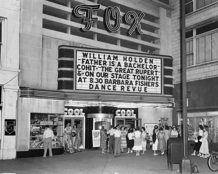 The historic Fox Theatre is now part of the History Museum ...