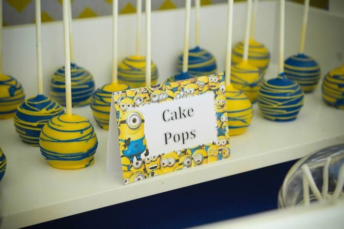 Despicable Me Food Ideas | My favorite Despicable Me Minion party ideas and elements from this ...