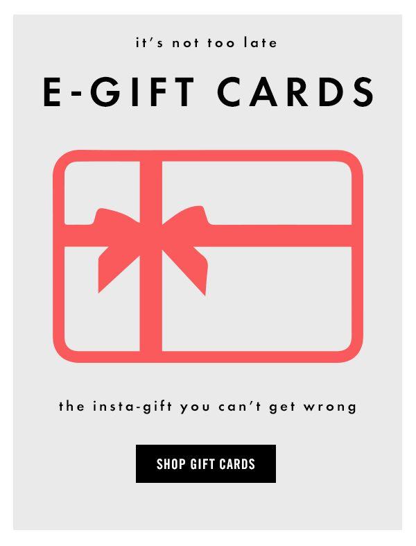 Steve Madden #Newsletter #Shop E-Gift Cards