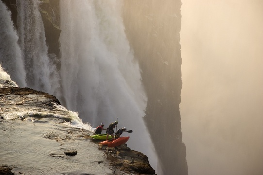 Victoria Falls, Zambia - photo by Desré Pickers - people's choice winner for Red Bull IllumeWater, Photos, Adventure, Paddles, Kayaks, The Edging, Victoria Falls, Places, Africa