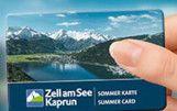 Zell am See Kaprun Sommer Card