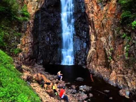 Top 5 Swimming Waterfalls – Hiking NB