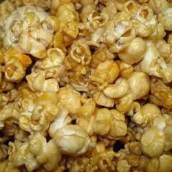 Photo de recette : Pop corn au caramel, au micro-ondes