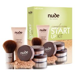 Buy Nude By Nature Nude By Nature Complexion Start Up Kit 1.0 Kit Online | Priceline