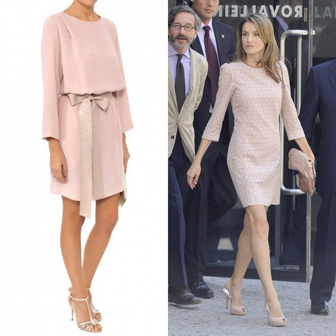 Vestidos de comunión para madres: la opción en rosa de Letizia - 10 vestidos de una comunión para madres a lo Reina Letizia