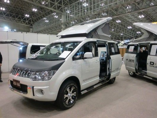 The D:POP from Sun-auto is based on the Mitsubishi DELICA D5 (Photo: Stephen Clemenger/Giz...