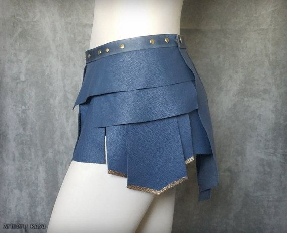 This Is A Beautiful Replica Of The Greekstyled Leather Skirt That Cool Wonder Woman Skirt Pattern