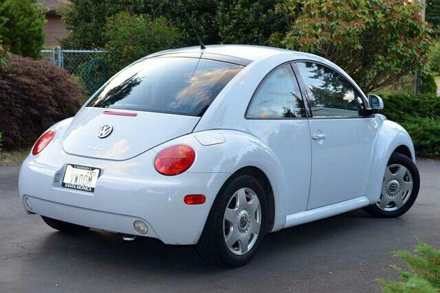 2000 Volkswagen Beetle Gls Vapor Blue Bug Car Beetle Car Cute Cars