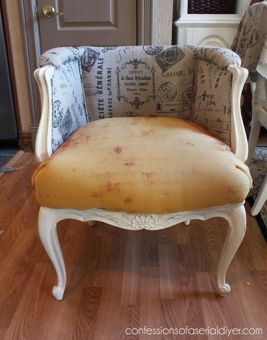 Great upholstery tutorial